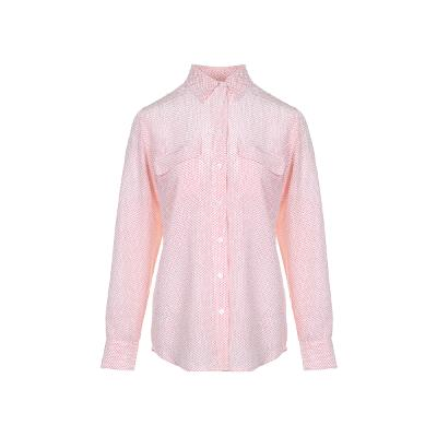 dot pattern pocket point blouse